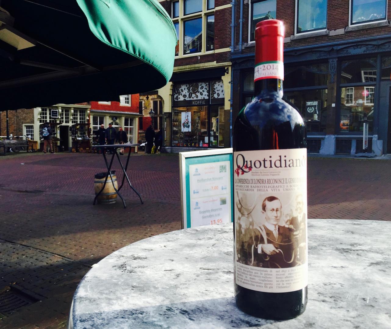 Quotidiano wijn Montepulciano Gattavecchi