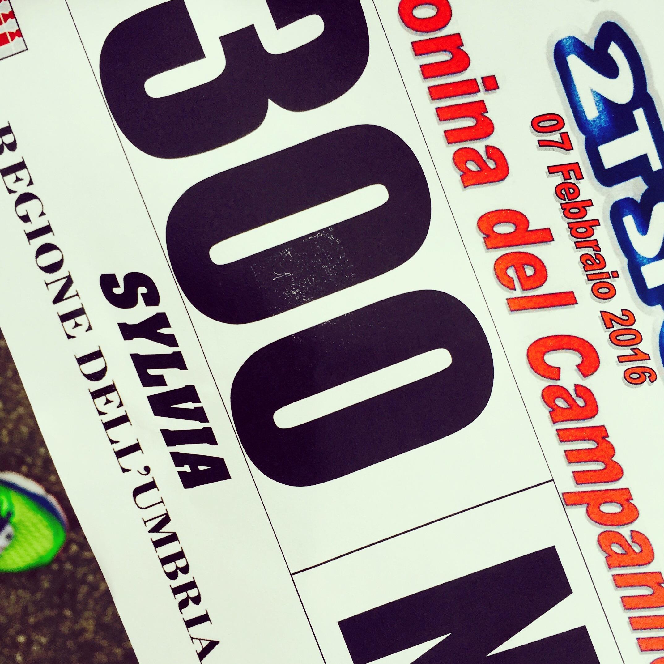 startnummer hardloopwedstrijd