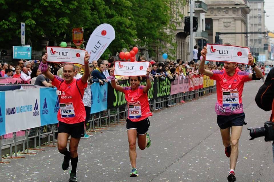 LILT Milano marathon Solfyrun