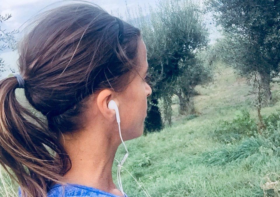 Fartlek training in Toscane