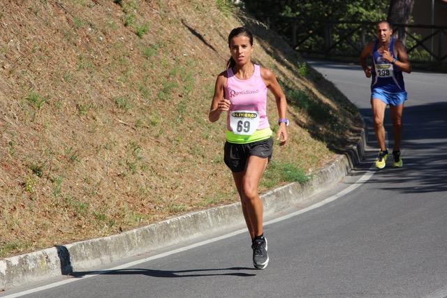 Hardloopwedstrijd in Montepulciano Toscane