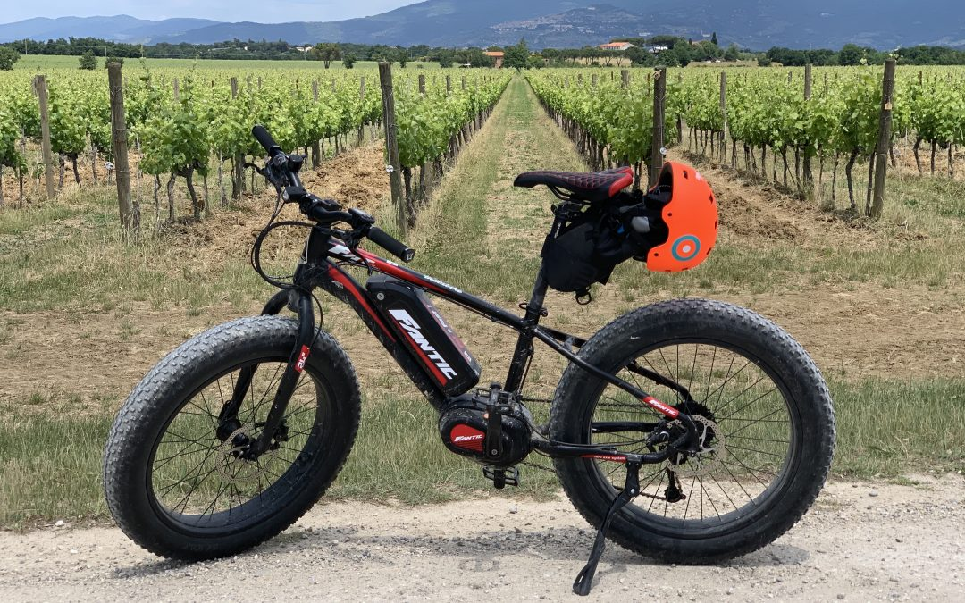 A FAT e-bike tour in Umbria with Instabike Italia
