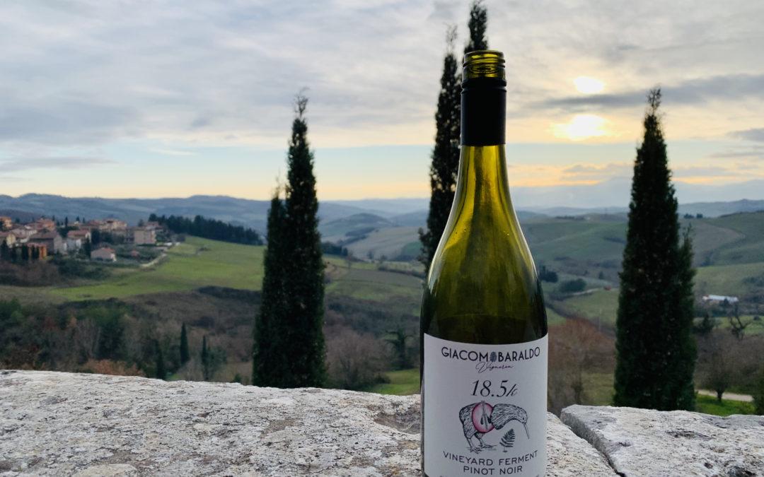 Pinot Noir wine from Vigneron Giacomo Baraldo