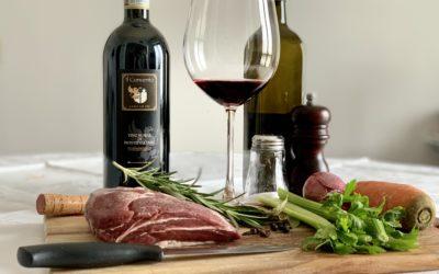 Il brasato al Vino Nobile di Montepulciano recipe